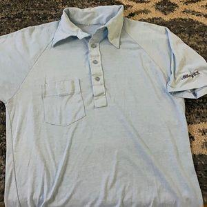 Vintage Albany County Club Golf Shirt One Pocket